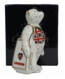I Love London Shopper Bear