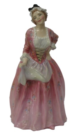 The Mary Jane Royal Doulton lady figurine