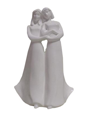 The second style of Royal Doulton's Best Friends figurine