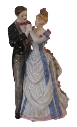The Anniversary figurine from Royal Doulton